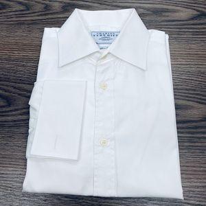Charles Tyrwhitt White French Cuff Slim Shirt 14.5